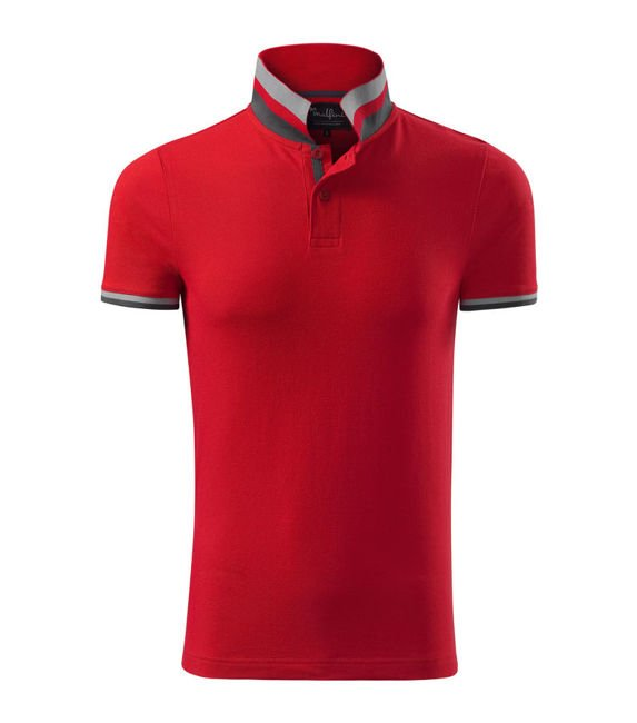 Collar Up koszulka polo męska formula red M